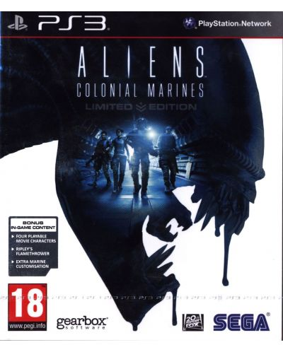 Aliens: Colonial Marines Limited Edition (PS3) - 1
