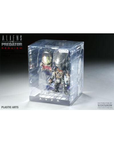 Aliens vs. Predator Requiem Super Deformed Vinyl Figure Predator 20 cm - 9