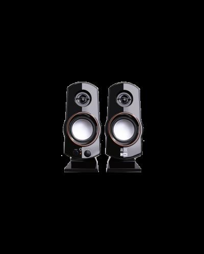 Мини аудио система Altec Lansing Zine - черна - 1