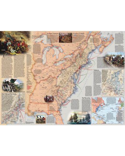 Пъзел New York Puzzle от 1000 части - Американската революция - 1