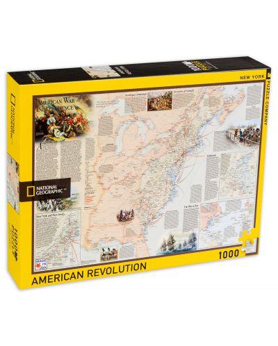 Пъзел New York Puzzle от 1000 части - Американската революция - 2