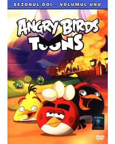 Angry Birds Toons - Сезон 2 - част 1 (DVD) - 1