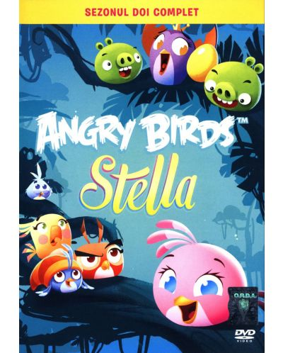 Angry Birds Стела - Втори сезон (DVD) - 1