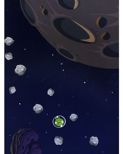 Angry Birds space: 140 стикерa и 5 чисто нови нива - 5