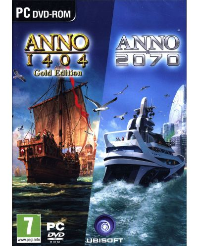 Anno 1404: Gold Edition & Anno 2070 Double Pack (PC) - 1