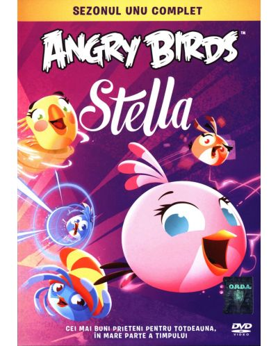 Angry Birds Стела - Първи сезон (DVD) - 1