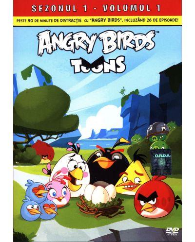 Angry Birds Toons - Сезон 1 - част 1 (DVD) - 1