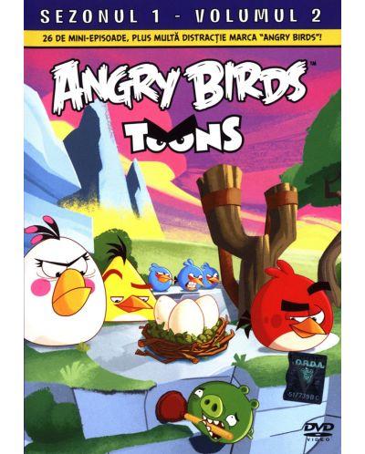 Angry Birds Toons - Сезон 1 - част 2 (DVD) - 1