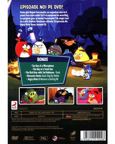Angry Birds Toons - Сезон 3 - част 2 (DVD) - 2