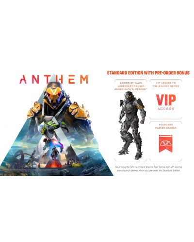 Anthem + Pre-order бонус (PS4) - 10