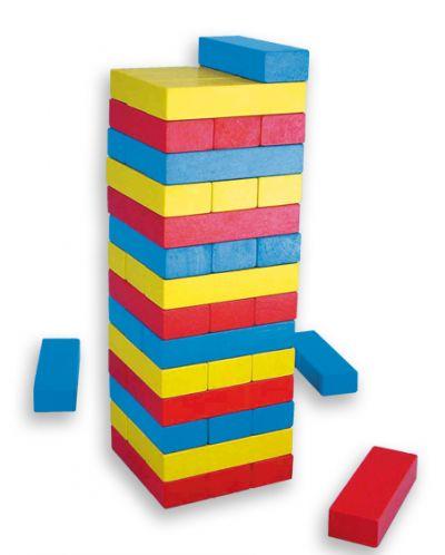 Балансна кула Дженга със зарчета Andreu toys - 2