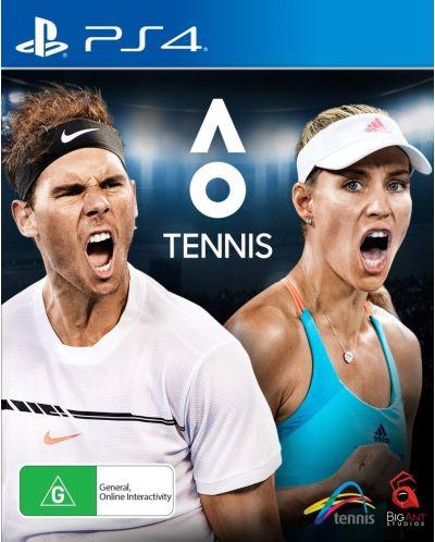 AO International Tennis (PS4) - 1