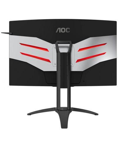 """Гейминг монитор AOC AGON AG322QC4 - 31.5"""", 144Hz, 4ms, QHD, черен - 3"""