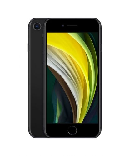 Смартфон Apple iPhone SE - 2nd gen, 128GB, черен - 1