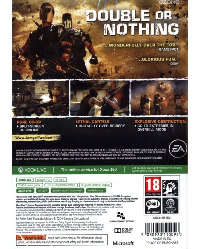 Army of Two: The Devil's Cartel (Xbox 360) - 3