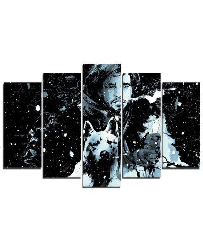Арт панел - Game of Thrones - Jon Pop Art - 1