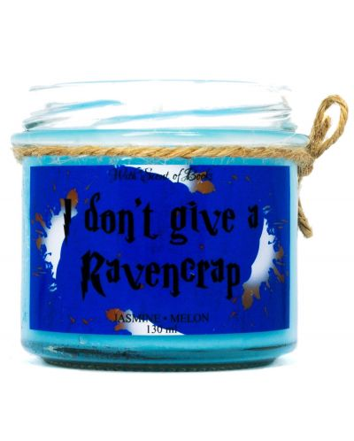 Ароматна свещ - I don't give a Ravencrap, 130 ml - 1