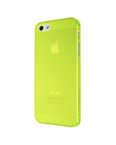Калъф Artwizz SeeJacket Clip Neon за iPhone 5, Iphone 5s -  жълт - 4