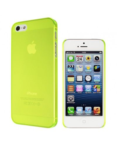 Калъф Artwizz SeeJacket Clip Neon за iPhone 5, Iphone 5s -  жълт - 2