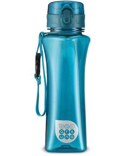 Бутилка за вода Ars Una - Светлосиня, 500 ml - 1