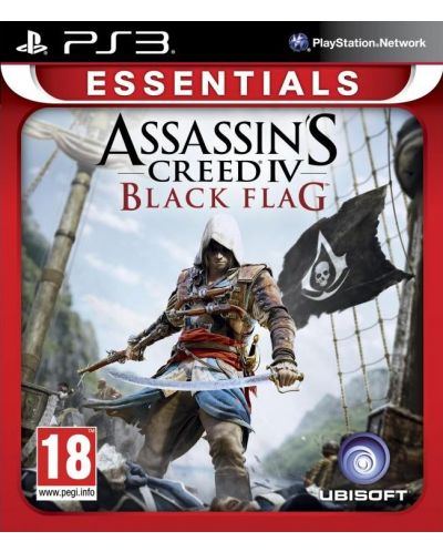 Assassin's Creed IV: Black Flag - Essentials (PS3) - 1