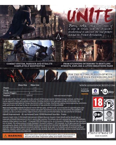 Assassin's Creed Unity (Xbox One) - 5