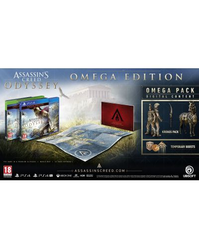 Assassin's Creed Odyssey Omega Edition (PS4) - 3