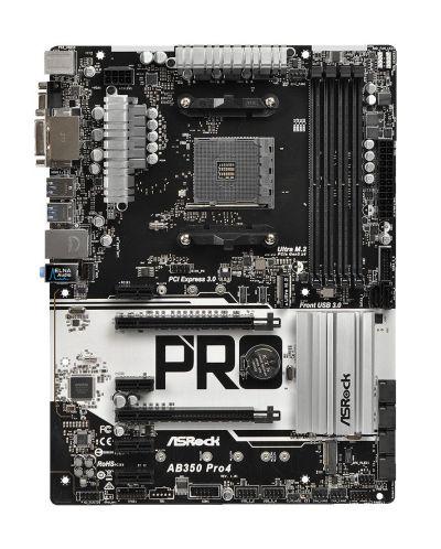 ASROCK Main Board Desktop AM4 B350 - 1
