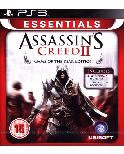 Assassin's Creed II GOTY - Essentials (PS3) - 1