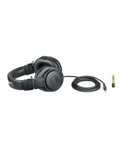 Слушалки Audio-Technica ATH-M20x - черни - 2