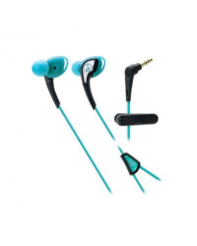 Слушалки Audio-Technica ATH-SPORT2BL - сини - 1