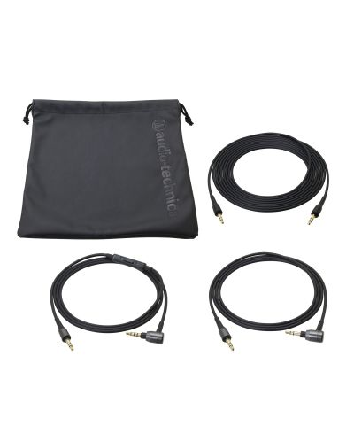 Слушалки Audio-Technica ATH-MSR7BK - черни - 3
