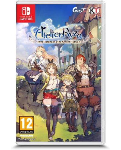 Atelier Ryza: Ever Darkness & The Secret Hideout (Nintendo Switch) - 1