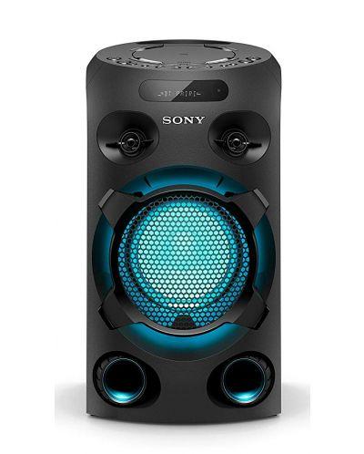 Аудио система Sony - V02, черна - 1