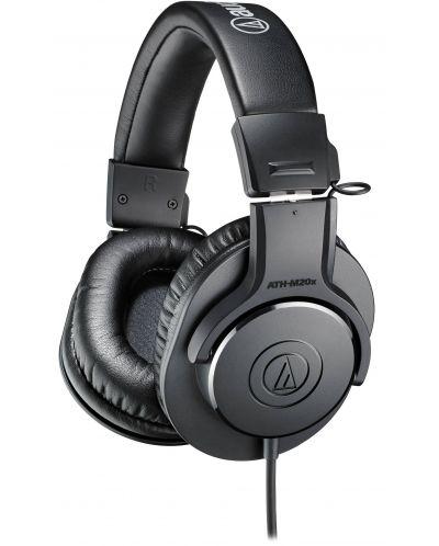 Слушалки Audio-Technica ATH-M20x - черни - 1