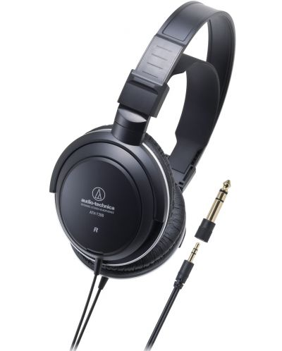 Слушалки Audio-Technica ATH-T200 - черни - 1