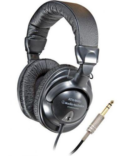 Слушалки Audio-Technica ATH-M40fs - 1