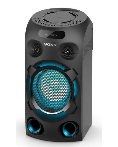 Аудио система Sony - V02, черна - 3