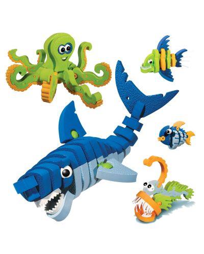 Конструктор Bloco - Морски създания, 235 части - 2