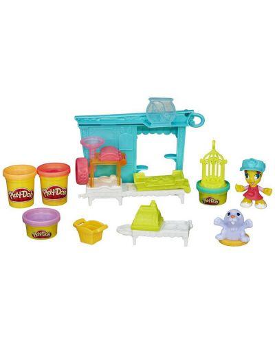 Play Doh Town - Магазин за домашни любимци - 1