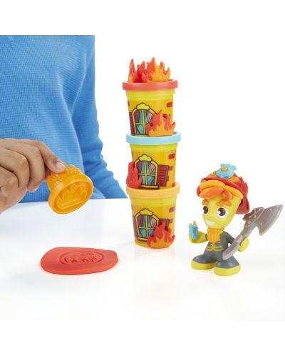 Play Doh Town - Противопожарен камион - 3