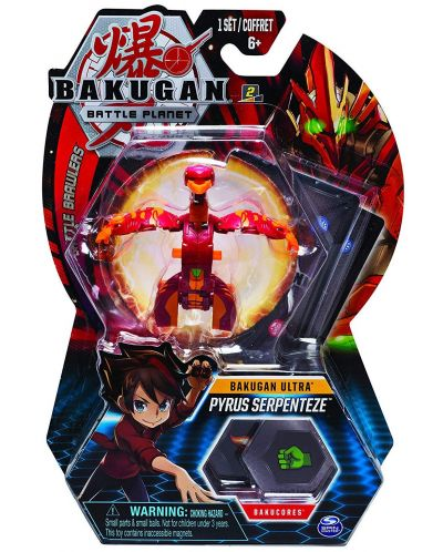 Игрален комплект Spin Master Bakugan Battle Planet - Ултра топче, асортимент - 1