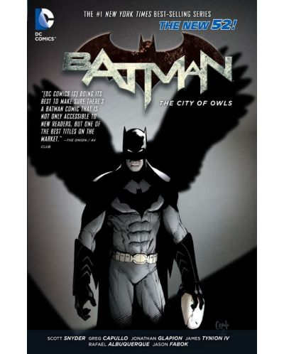 Batman Volume 2: The City of Owls (The New 52) - 1