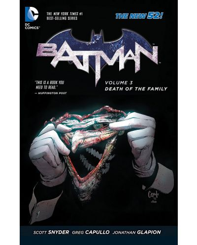 Batman Volume 3: Death of the Family (The New 52) - 1