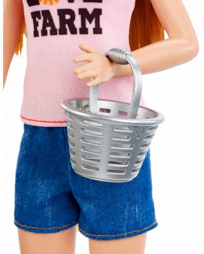 Игрален комплект Mattel Barbie - Фермерка - 6