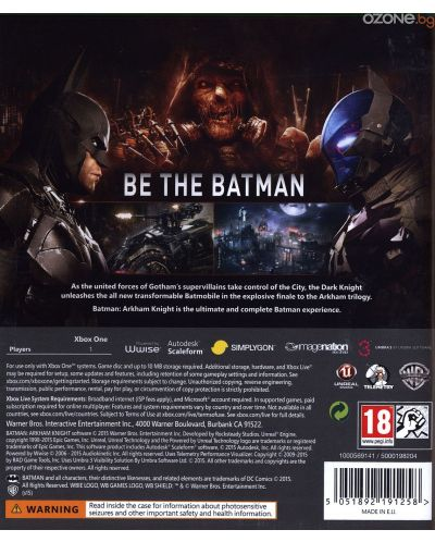 Batman: Arkham Knight (Xbox One) - 4