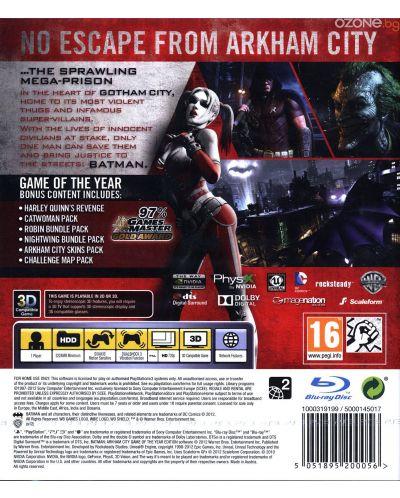 Batman: Arkham City - GOTY (PS3) - 4