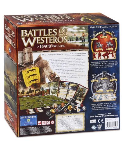 Настолна игра Battles of Westeros Core Set (BW01) - 2