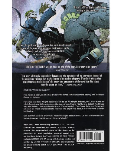 Batman Volume 3: Death of the Family (The New 52)-1 - 2