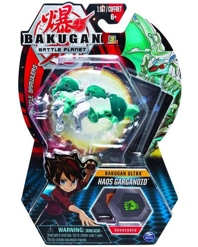 Игрален комплект Spin Master Bakugan Battle Planet - Ултра топче, асортимент - 4